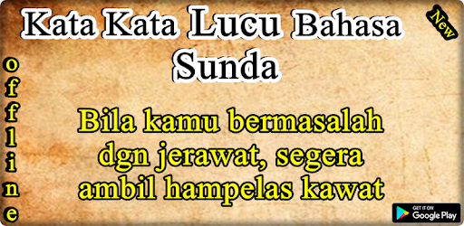 Kata Kata Lucu Bahasa Sunda Apk App Free Download For Android
