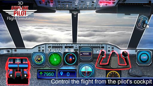 Airplane Pilot Cabin – Flight Simulator 3D 1.93 Cheat screenshots 1
