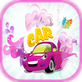 Princess girl car