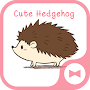 Wallpaper Cute Hedgehog Theme APK icon