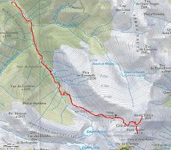 Photo: Distància 7,5 km. Ascensió acumulada 2012m.