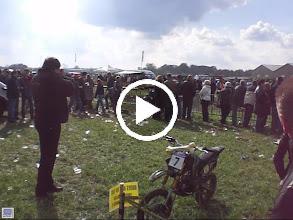 Video: na de cross....parkeren!
