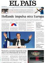 Photo: Hollande impulsa otra Europa; Neonazis y extrema izquierda serán claves en el Parlamento de Grecia; El Gobierno ultima la inyección de miles de millones en Bankia; El ajuste amenaza con parar el portaaviones de la Armada, entre los temas de portada de EL PAÍS de este lunes, 7 de mayo de 2012 http://srv00.epimg.net/pdf/elpais/1aPagina/2012/05/ep-20120507.pdf