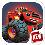 Blaze Truck Monster Machines Free games Icon
