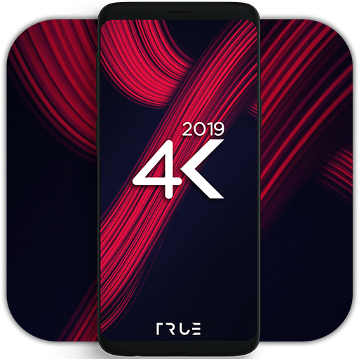 4K AMOLED Wallpapers - Live Wallpapers Changer Icon