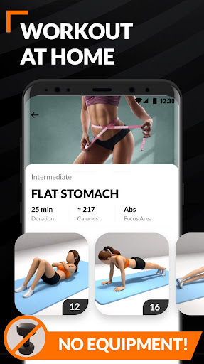 Workout for Women screenshot 4