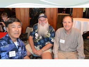 Photo: Harry Kaino, Jim Smith and John Cosenza
