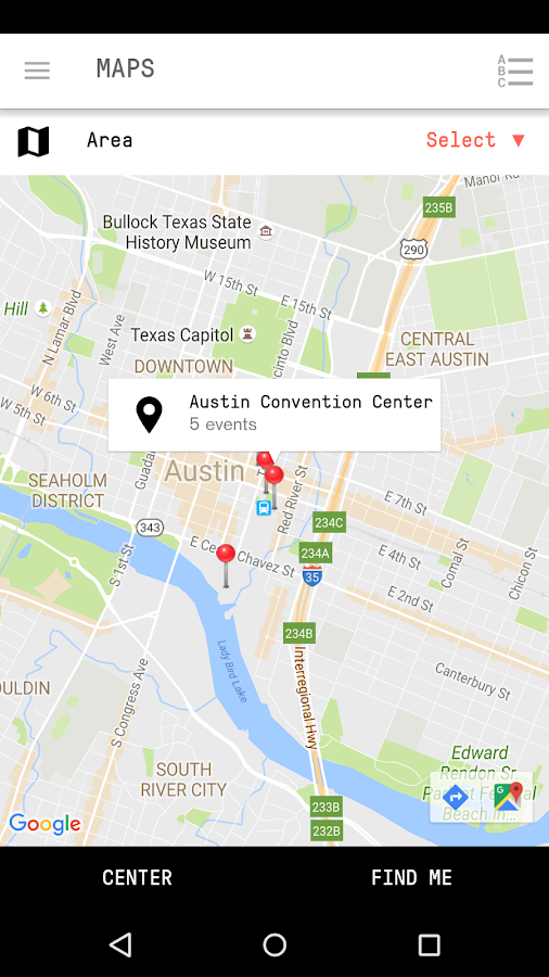 SXSW Eco 2016 Mobile Guide- screenshot