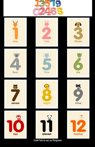 English Number For Kids