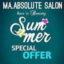 Ma Absolute Salon, Singasandra, Bangalore logo