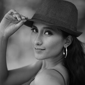 hi... by Jaya Prakash - People Portraits of Women