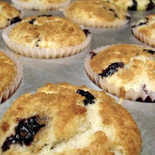 Lowfat Blueberry Muffins