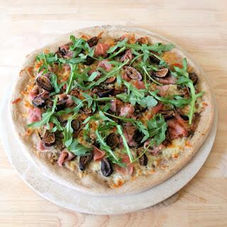Fig & Prosciutto Pizza with Arugula