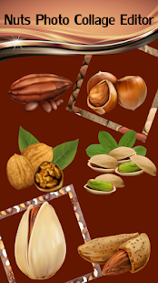Nuts Photo Collage Editor - náhled