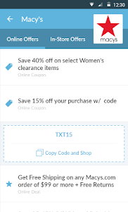 Coupon Codes - by CouponFollow screenshot 1