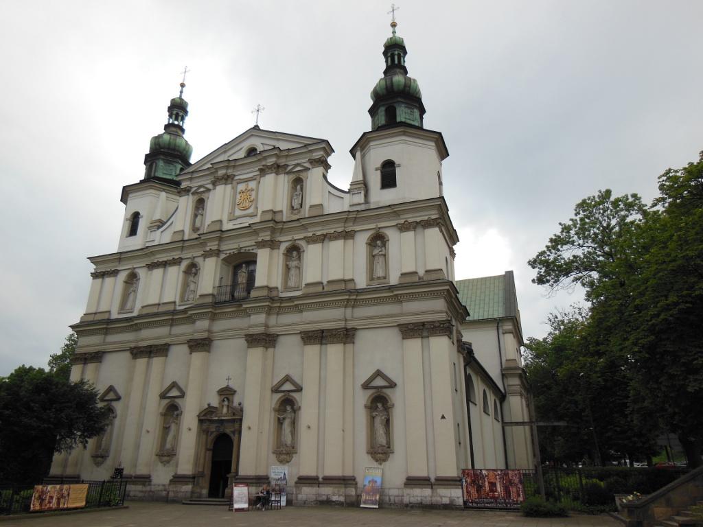 Iglesia de San Bernardino en Cracovia.