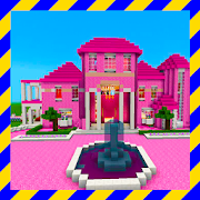 Super Pink house map for MCPE