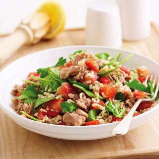 Quick Tuna And Rice Salad.