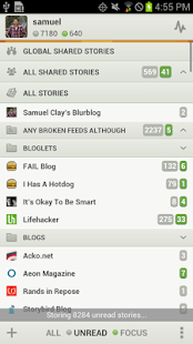 NewsBlur Screenshot