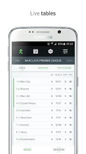 KICK - Football Scores & Stats- screenshot thumbnail