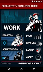 Productivity Challenge Timer- screenshot thumbnail