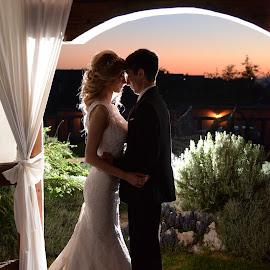 night shot by Sasa Rajic Wedding Photography - Wedding Bride & Groom ( wedding photography, weddings, wedding day, wedding )