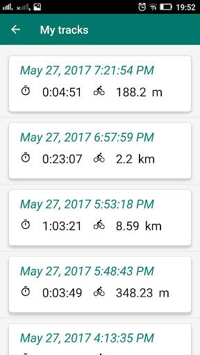 Bike Computer - GPS Cycling Tracker 2.8 screenshots 4