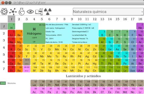 Tabla peridica de elementos apps en google play imagen de la captura de pantalla urtaz Choice Image
