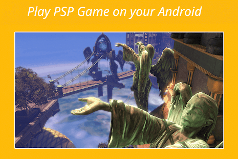 PSP Emulator Screenshot