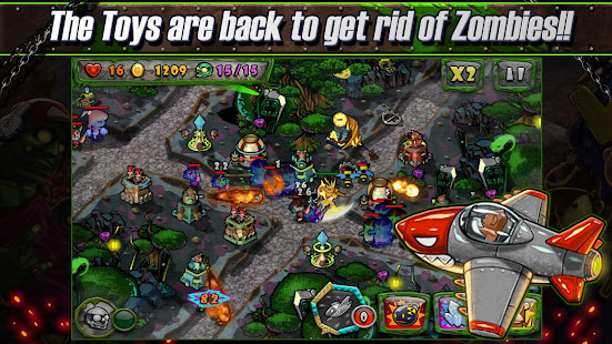 pertahanan zombie Mod