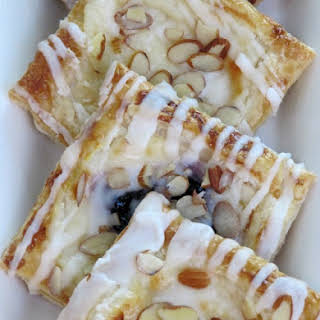 Cream Cheese and Fruit Pastries.