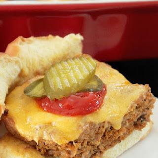 Baked Butter Burger