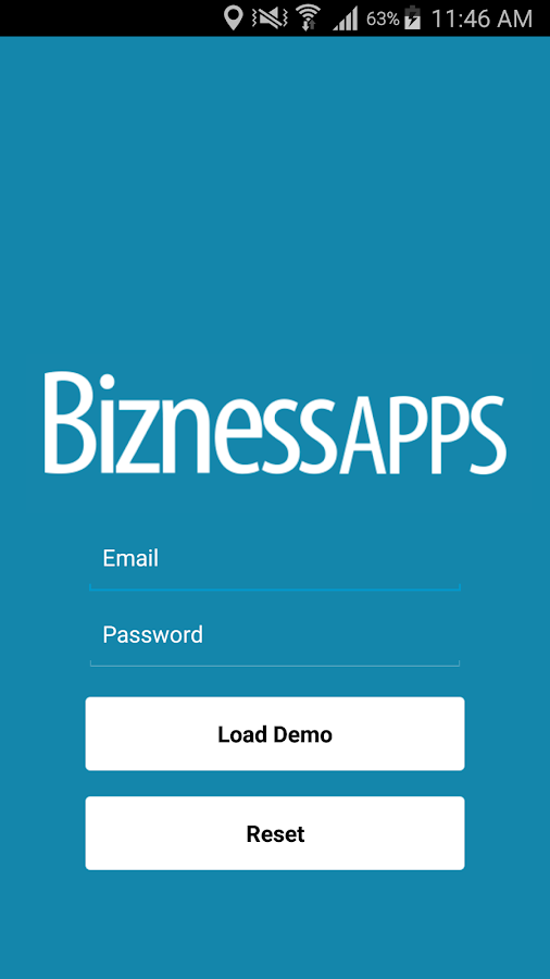 Bizness Apps Preview App- screenshot