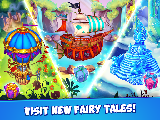 Fancy Blast: Puzzle in Fairy Tales 2.5.1 screenshots 18