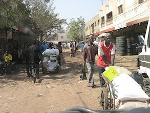 Photo: BAMAKO - stolica MALI - w poszukiwaniu hotelu