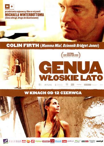 Przód ulotki filmu 'Genua. Włoskie Lato'
