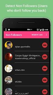 Non Followers for Instagram screenshot