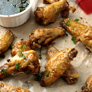 Crispy Baked Teriyaki Wings