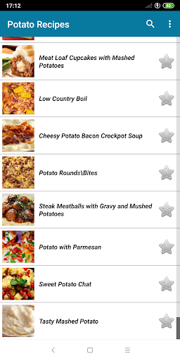 Potato Recipes 0.9.57 screenshots 2
