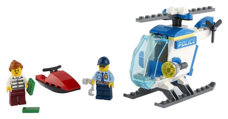 Contenido de Lego® 60275 Helicóptero de Policía