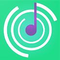 Hearing: ear training. Piano. icon