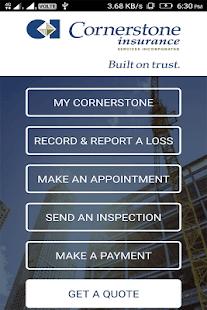 Cornerstone Insurance - náhled