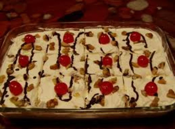 Mom's Banana Split Cake Recipe