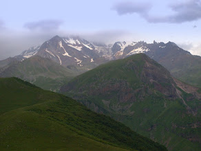 Photo: Kazbek w chmurach