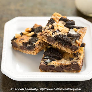 Cookie Monster Magic Bars