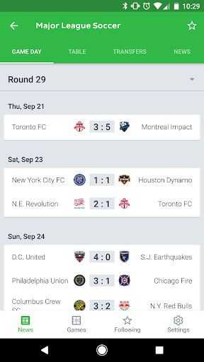 Onefootball Live Soccer Scores app (apk) free download for Android/PC/Windows screenshot