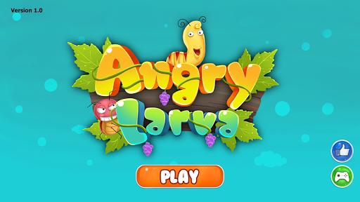 玩免費休閒APP|下載怒っている幼虫 app不用錢|硬是要APP
