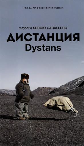 Przód ulotki filmu 'Dystans'