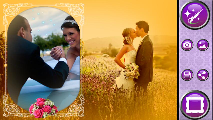 android Wedding Frames Photo Editor Screenshot 2