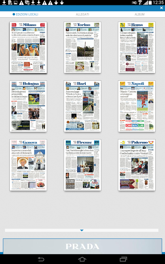 La Repubblica+- screenshot